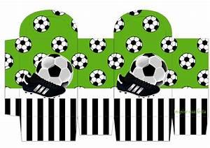 Set de Fútbol: Imprimibles para Fiestas, Invitaciones y Cajas para Imprimir Gratis Ideas y