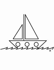 Drawing Coloring Pages Of Boat For Kids 2014