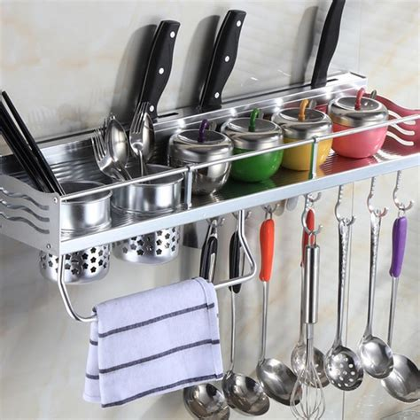 Mensole Acciaio Per Cucina by Mensole Cucina Dieci Idee Originali Per Ordinare E