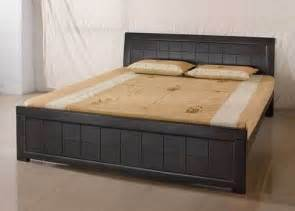 indian home interior design ideas wooden bed design in india home design