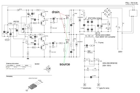 switch mode arc inverter welder schematic page 4
