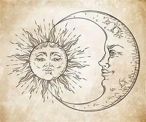 Lune Dessin Tatouage : lune et soleil dessin tatouage 3dliveproject ~ Melissatoandfro.com Idées de Décoration