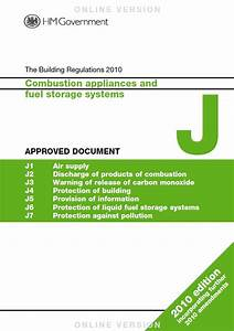 building regulations guidance hetas links approved With approved documents g