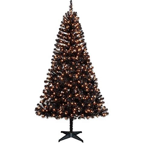 holiday time pre lit 6 5 feet madison pine black