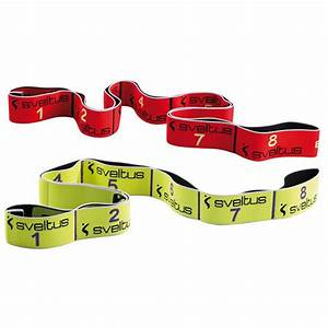 Elastique fitness Elastiband 10kg pour exercices fitness