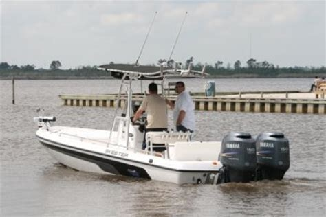 Bay Boat Twin Engine by 2008 24ft Skeeter Twin 150 Yami 4 Strokes The Hull