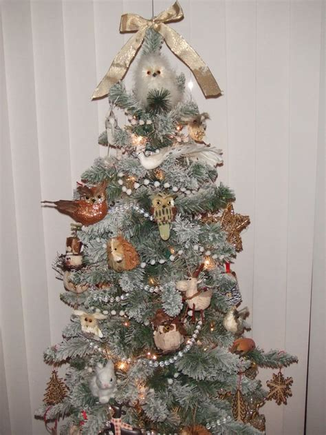 small woodland christmas tree woodland christmas