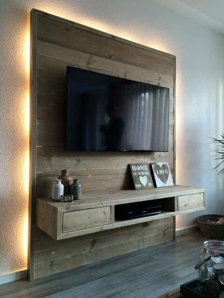 tv wand steigerhout wand meubel mauritius nivos meubelen
