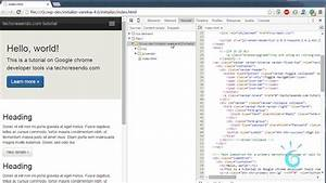 how to edit html css files directly in chrome techcresendo With html documents editor