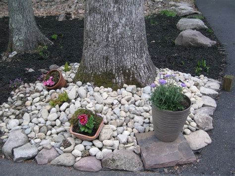easy rock garden for the home