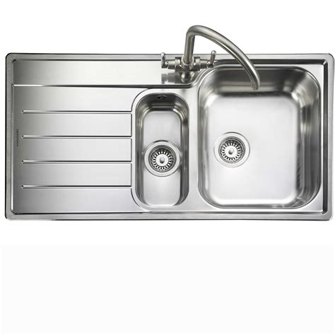 kitchen faucet with filter rangemaster oakland ol9852 stainless steel sink kitchen