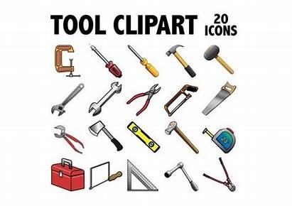 Tools Construction Clipart Handyman Printable Equipment Level