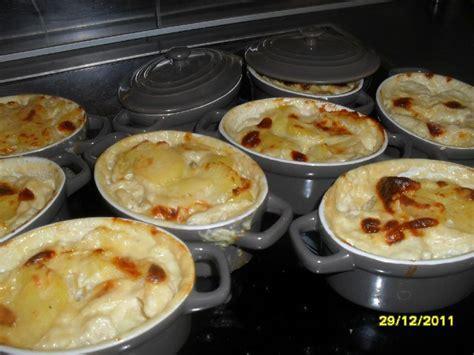 mini cocottes de gratin de pommes de terre au reblochon