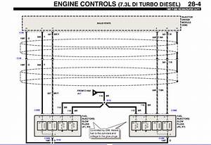Need Wiring Diagram From Fuel Injector Banks To Battery For Ford 97 F350 Super Cab Power Stroke