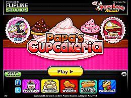 jeux de cuisine de papa louie papa 39 s cupcakeria un des jeux de papa louie sur jeux jeu fr