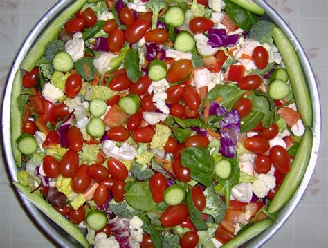 everything but the kitchen sink salad celebrate healthful 9652