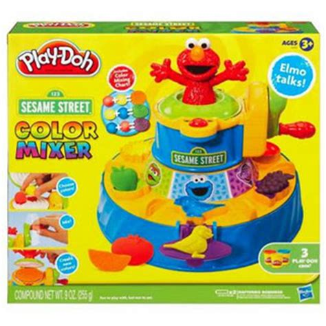 gift idea play doh sesame color mixer