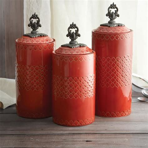 rustic kitchen canisters atelier quatra canister set rustic