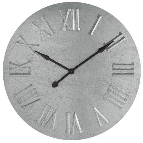 horloge zinc maisons du monde