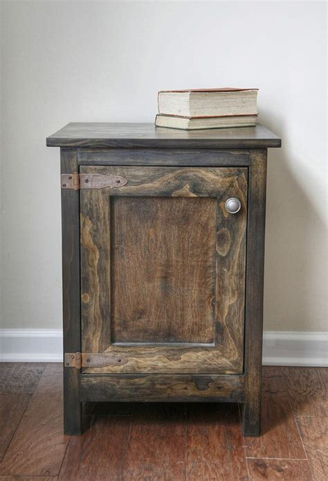 easy diy cabinet side table   perfect project