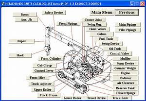 Hitachi Excavator Medium Size  U0026 Crane
