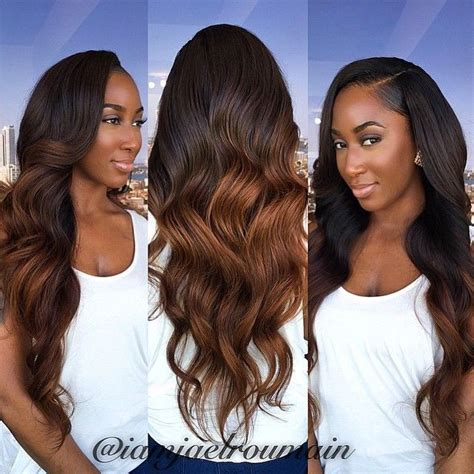 Two Tone Sew In Hairstyles by Two Tone Weave Hairstyles Pictures Hair