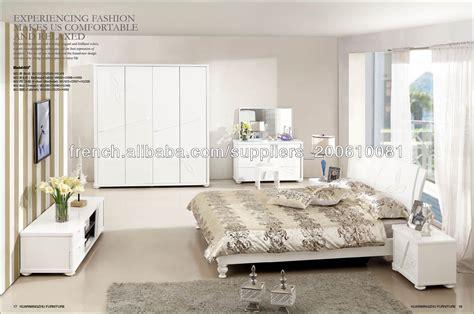 chambre meuble blanc chambre à coucher moderne blanc ensemble de meubles lots