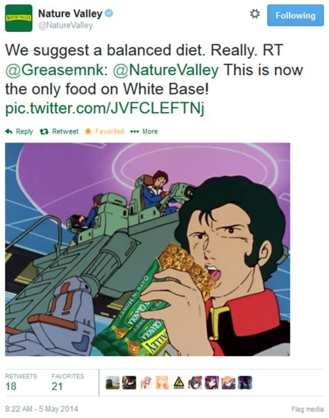 Nature Valley Meme - image 749832 nature valley anime tweets know your meme