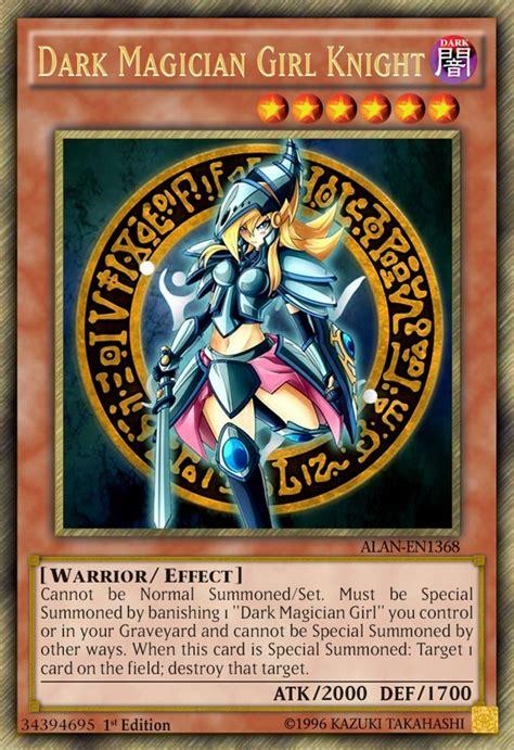 dark magician girl knight  alanmac  deviantart