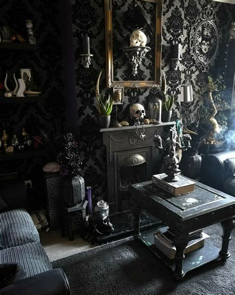 Halloween Style!! Gothic Glam Living Room!  Death´s