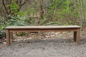comment construire un banc en bois With comment fabriquer un banc de jardin