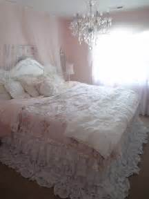 not so shabby shabby chic my new ruffly bedding