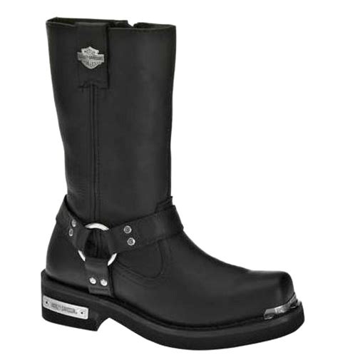 biker boots for harley davidson 39 s landon black leather