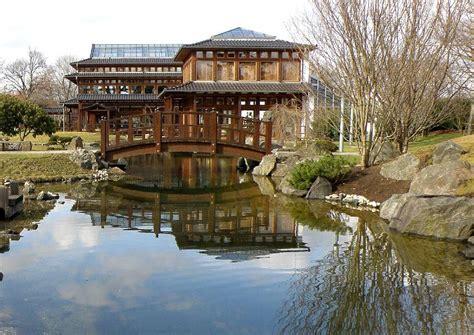 Japanischer Garten Bad Langensalza Thüringen by Japanischer Garten Symmetrie Durch Wasserspiegelung