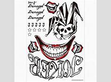 Tatouage Joker Haha Tattoo Art