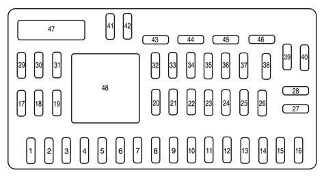 Mazda Tribute Fuse Box Diagram Auto Genius