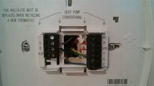 Hvac - Heat Pump  Air Conditioning Wiring To Thermostat