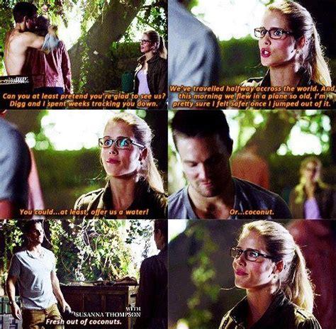 Arrow Oliver & Felicity