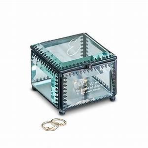 Boite En Verre Deco : bo te bijoux de verre inspir vintage personnalis mariage d co belle nuance ~ Teatrodelosmanantiales.com Idées de Décoration