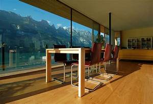 Modern, House, By, The, Lake, In, Switzerland