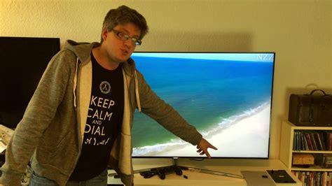 Samsung Suhd Fernseher by Samsung Ks8090 4k Suhd Fernseher Einrichten Und Erster