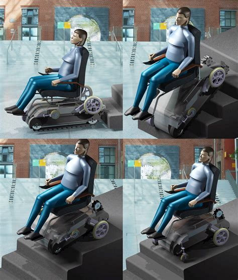 chaise roulante lectrique stair climbing wheelchair create the future design contest