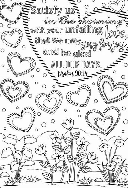 Bible Coloring Verse Pages Verses Printable Scripture