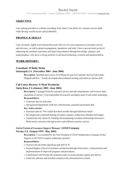 Time Resumes by Format Resume Simple Resume Format Time
