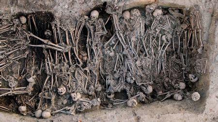 ancient dna traces  black death  russias volga