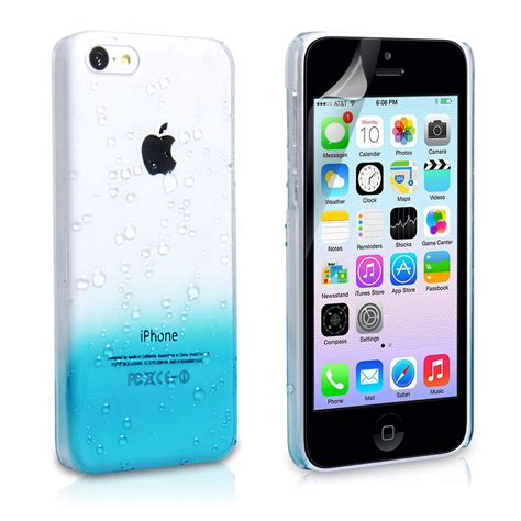 iphone 5c skins yousave iphone 5c raindrop blue mobile ma
