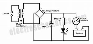 Simple 12 Volt Charger Circuit