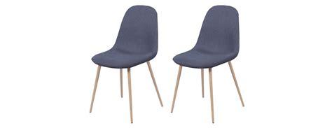 chaises bleues chaise fredrik bleu gris commandez nos chaises fredrik
