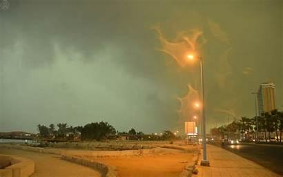 Rain Arabia Saudi Weather Floods Damage Closings
