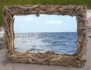 Miroir En Bois Flotté : voyez le monde dans le miroir bois flott ~ Teatrodelosmanantiales.com Idées de Décoration